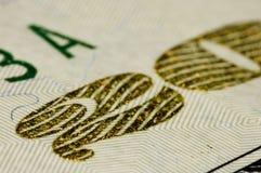 接近的美元极端二十  免版税库存照片