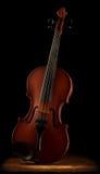 接近的老小提琴 免版税库存图片