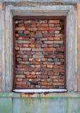 接近的老视窗 免版税库存照片