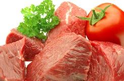 接近的肉 库存照片