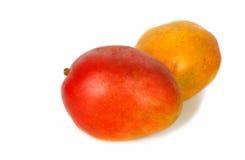 接近的芒果红色射击二  库存图片