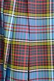 接近的苏格兰男用短裙苏格兰人 免版税库存照片