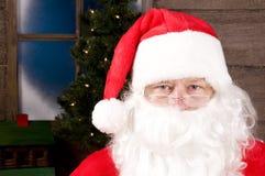 接近的表面s圣诞老人 库存图片