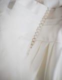 接近的详细资料穿戴婚姻 免版税图库摄影