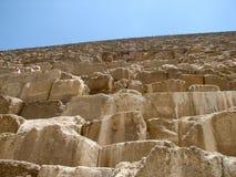 接近的金字塔 库存照片