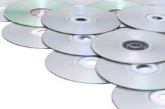 接近的雷射唱片平面的传播表面 免版税图库摄影