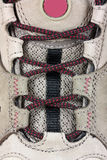接近的鞋带体育运动培训人 库存图片