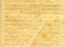 接近的grunge老纸纹理 免版税库存照片