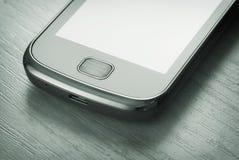 接近的smartphone表 图库摄影