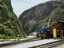 接近马丘比丘的山,秘鲁 免版税库存图片