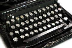 控制台打字机键盘 免版税库存图片