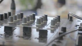 控制图象马赛克面板声音工作场所 影视素材