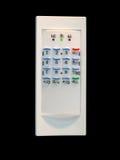 控制家庭面板塑料安全性证券 免版税库存照片