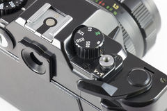 控制快门速度SLR照相机 库存图片