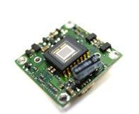 控制数字式minichamber传感器录影 库存图片