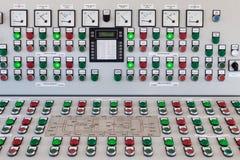 控制数据设备数字输入设备管理面板工具 库存图片