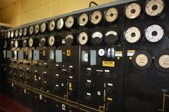 控制数据设备数字输入设备管理面板工具 免版税库存图片