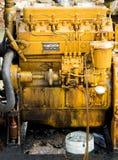 控制有污点的泵浦机器 免版税图库摄影
