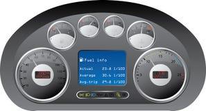 控制板卡车 向量例证