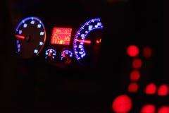 控制板发光 图库摄影