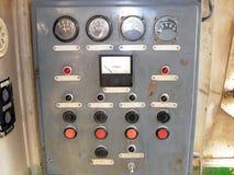 控制板在实验室 免版税库存照片