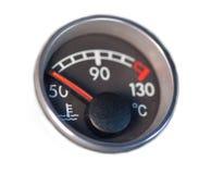 控制板指示符低温 图库摄影