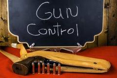 控制枪 免版税库存照片