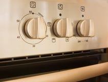 控制烹饪器材详细资料 免版税库存图片