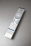 控制现代遥控电视 免版税库存照片