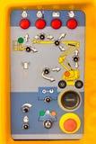 控制电梯行业面板 库存图片