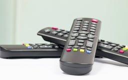 控制电能的遥控 免版税库存图片