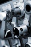 控制行业锁定面板 库存照片