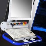 控制设备现代面板 免版税图库摄影