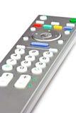 控制远程电视 库存照片