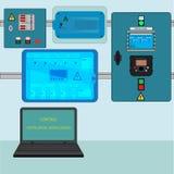 控制透气设施 库存图片