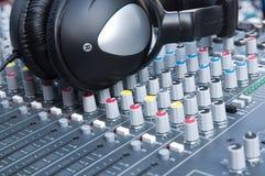 控制面板声音 免版税库存图片