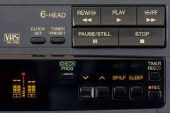 控制面板记录员录影 库存照片