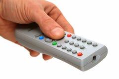 控制面板远程电视 库存图片
