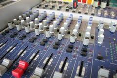 控制音乐 库存图片