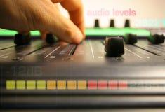 控制音量控制器现有量 免版税库存图片