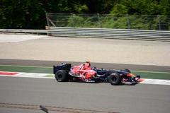 控制GP托罗Rosso STR1惯例1汽车 库存照片
