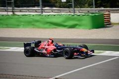 控制GP托罗Rosso STR1惯例1汽车 免版税库存图片