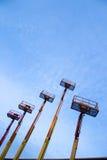 推力和蓝天2 免版税库存照片