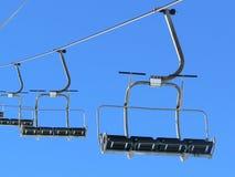 推力滑雪 图库摄影