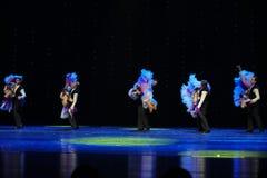 推力以色列民间舞蹈这奥地利的世界舞蹈 免版税图库摄影