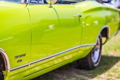 1969推托冠小轿车 库存图片