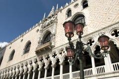 推托意大利宫殿威尼斯 库存图片