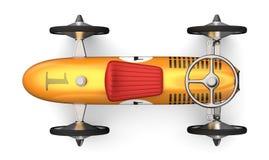 推挤减速火箭的汽车 库存照片