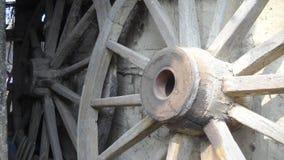推车的轮子 免版税库存图片