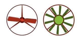 推进器爱好者传染媒介风通风设备设备鼓风机致冷机自转技术力量圈子 图库摄影